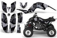 ATV Graphics Kit Decal for Yamaha Raptor 660 2001-2005 Special Forces Black