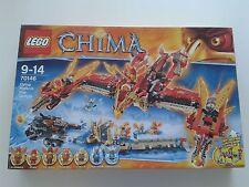 Lego Chima Phoenix Fliegender Feuertempel (70146) aus Sammlungsauflösung