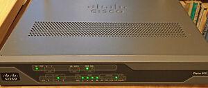 Cisco C887VAG-4G-GA-K9 4G/LTE & VDSL2/ADSL2/2+ Router/4port switch, VGC (LTE/4G)