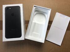 Apple iPhone 7 4,7 Embalaje EMBALAJE ORIGINAL envases vacíos cartón OVP Negro