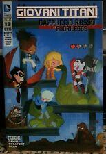 DC NEW 52 GIOVANI TITANI 37 Harley Quinn VARIANT rara RW LION Cappuccio Rosso 13