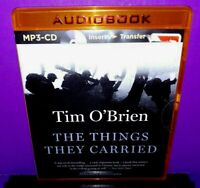 The Things They Carried by Tim O'Brien (2014, CD MP3, Unabridged edition) NEW