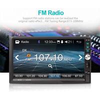 7'' Doppio 2 DIN Autoradio Bluetooth Stereo Radio Lettore MP3 MP5 FM USB AUX TF