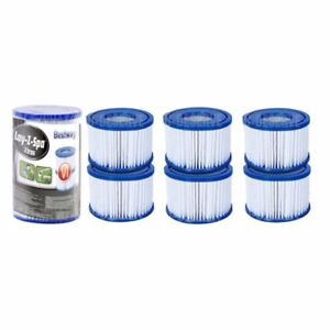 6 x BRAND NEW Bestway lazy Lay-z-Spa Filters VI Cartridge - Hot Tub - Spa