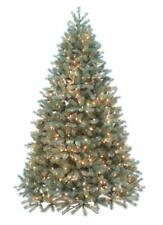 NEW Santas Own 9' Fresh Cut Douglas Fir Green Medium Artificial Christmas Tree