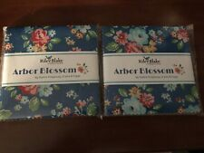 Riley Blake Arbor Blossom Charm packs X2 quilting fabric NIP