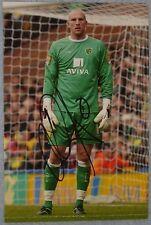 John Ruddy Signed (Norwich)