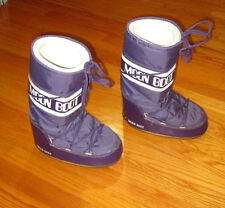 The Original Moon Boot Womens Snow Boots Size 8.5 Purple White