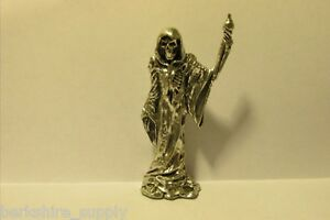 Pewter Grim Reaper Figurine Made In USA