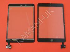 For iPad Mini Touch Glass Digitizer Screen IC Connector Home Button Flex Black