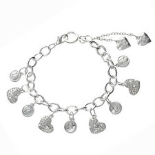 One Direction Heart Initials Charm Bracelet (100% Official Merchandise)