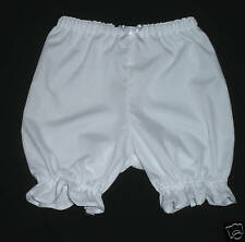 Minnie Mouse Length Bloomers White Custom Girls sz 1-6X