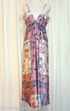 BEAUTIFUL HOT OPTIONS FLORAL PRINT MAXI DRESS size 14