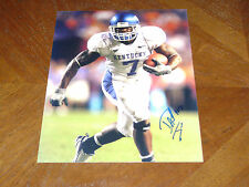 David Jones Kentucky Wildcats signed 8x10 Photo