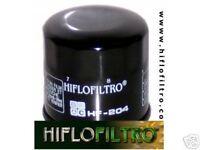 ACEITE FILTRO HF 204 KAWASAKI zx-12 R,Z 750 ,1000 ,zx-10r,zx-6r,hilfofiltro