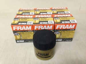 SIX(6) Fram Ultra Synthetic XG10060 Oil Filter CASE fits XG10060 10-48 M1-113A