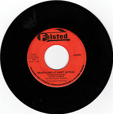 KATHY LINDEN-FELSTED 8571 TEEN ROCK 45 HEARTACHES AT SWEET SIXTEEN   VG++