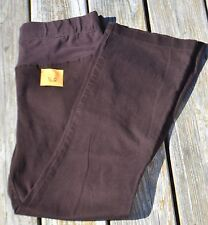 Women's Size Medium Motherhood Maternity Brown Pants EUC