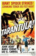 TARANTULA Movie Theater Poster Fine Art Print Giant Spider Horror Terror
