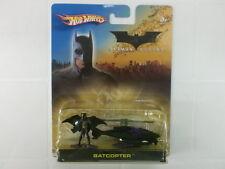 HOT WHEELS 1/64-1/72 - BATCOPTER + BATMAN