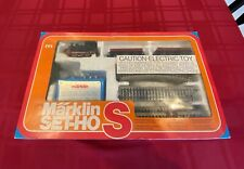 Marklin Ho scale 0967 train set with extra cars and track