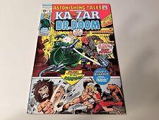 Astonishing Tales Featuring Ka-Zar And Dr.Doom 5 NM(1971)