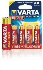 Varta 4x AA Max tech LR6 alkaline batteries 1.5V (VARTA-4706/4B)