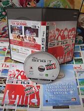 Playstation 3 PS3:Sing It - High School Musical 3 [TOP DISNEY] NEUF - Fr