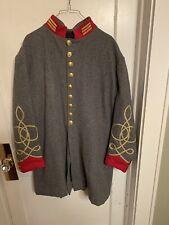 Confederate Gray Officer's Frock Coat Artillery