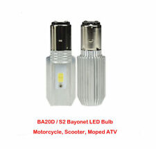 New BA20D L11 6000K LED  Headlamp Bulb for Motorcycles, Scooters S2 Free Ship