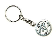 0327 - Ohm Pendant Keyring Bag Hanger Protection Good Luck Charm
