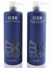 I.C.O.N. ICON D Frizz BK Wash Shampoo & Bath Conditioner 25 oz Biotin Keraveg 18