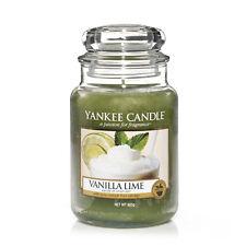 YANKEE CANDLE candela profumata Vanilla Lime giara grande durata  150 ore