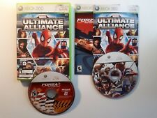 MARVEL ULTIMATE ALLIANCE FORZA 2 Xbox 360 Complete CIB Good FREE SHIPPING !!