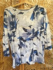 Fab Spring Linen Top Blues & Whites Lk Bennett UK M