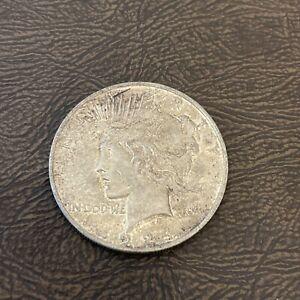 1924  LIBERTY PEACE SILVER  Dollar