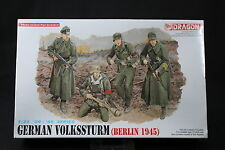 YK032 DRAGON 1/35 maquette figurine 6020 German Volksstrum (Berlin 1945)