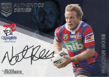2018 NRL TRADERS AUTHENTICS SERIES NAVY -  ASN8 NATHAN ROSS NEWCASTLE KNIGHTS