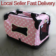 Large Portable Pet Dog Cat Soft Travel Carrier Handbag Tote Crate Foldable Bag