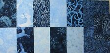 Batik Quilting Craft Fabric Squares