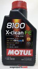 Aceite lubricante Motul 8100 Xclean FE 5W-30 C2 C3 dexos 2, 1 litro