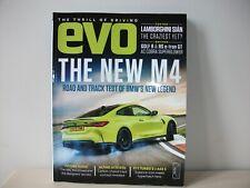EVO CAR MAGAZINE ISSUE 284 BMW M4 LAMBORGHINI SIAN GOLF R 911 TURBO MERCEDES