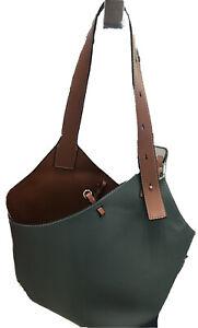 New Maison De Beaute Marseille Cholet Leather Hand bag With Bonus Pouch and More