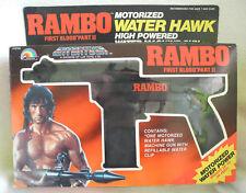 LJN Entertech Rambo Motorized Water Hawk, Wasserpistole RAR