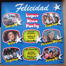 SUPER DISCO PARTY FRENCH LP CARRERE 1981