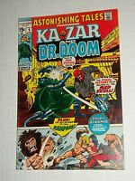 Marvel ASTONISHING TALES #5 Ka-Zar & Dr Doom April 1971