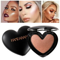 Shimmer Highlighter Powder Makeup Face Foundation Bronzer Makeup Shine Contour