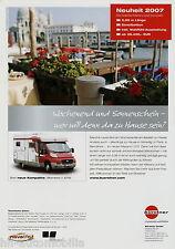 Bürstner Marano T 575 Reisemobil Prospekt 2007 D Wohnmobil brochure motor home
