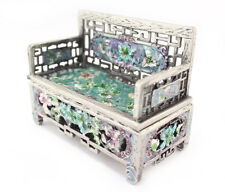 Silver Vintage Chair Jewelry Trinket Box Decoration Collection Cute Gift 02091B