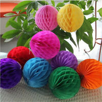 Colorful Lots Honeycomb Ball Paper Lanterns Home Wedding Birthday Party Decora